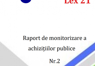"Public Procurement Monitoring Report in Technical Railway College from Bati and Balti State University ""Alecu Russo"""