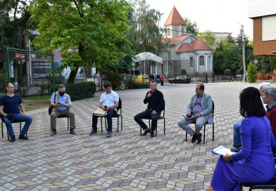 "The round table ""Constructions in the green areas of Bălți municipality. What was planned and what was achieved"""