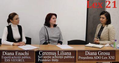 Диалог с Дианой Енаки и Черемуш Лилианой. Тема обсуждения – госзакупки