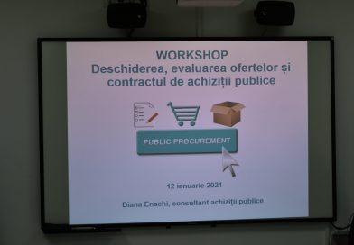 "LPA representatives, public procurement experts, NGO representatives and civic activists participated, on January 12, 2021, in the workshop ""Evaluation of public offers and procurement"" organized by the ""Association for Human Rights Lex XXI"""