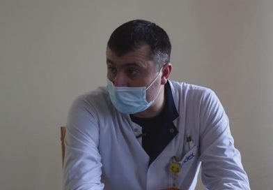 How do the first vaccinated doctors at Drochia District Hospital feel?