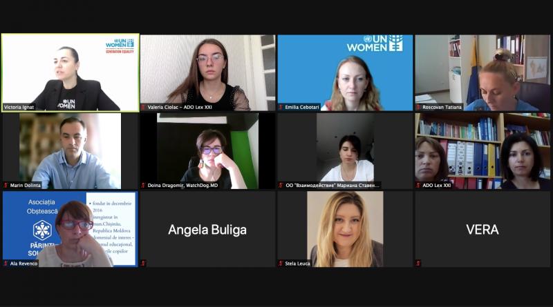 Вводная встреча, организованная «ООН Женщины Молдовы»