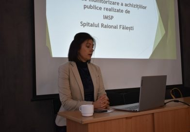 The Public Procurement Monitoring Report made by IMSP Falesti District Hospital was presented by ADO Lex XXI on September 29, 2021